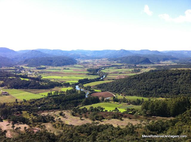 Vista do Morro do Campestre - Urubici/SC