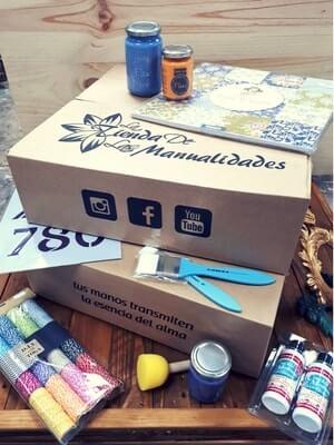 cajas para manualidades