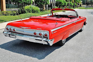 1962 Chevrolet Impala SS Convertible Rear Right