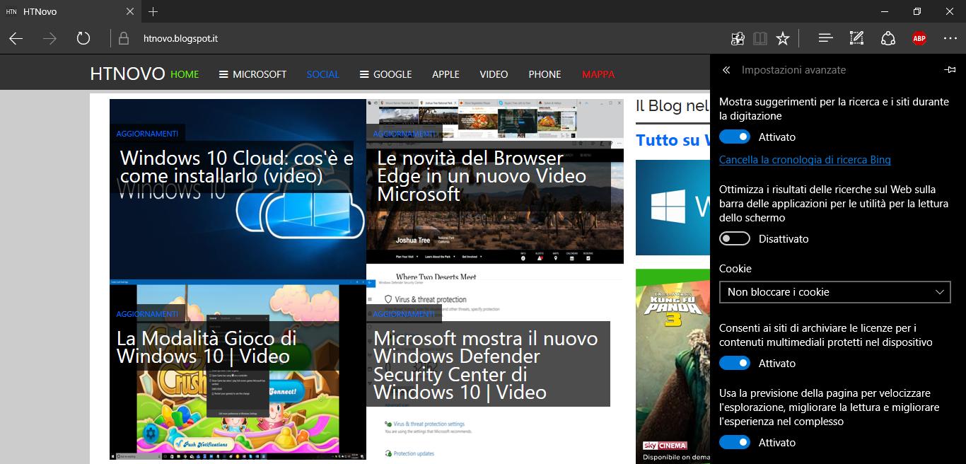 Cortana mostra i risultati delle ricerche sul Web in Internet Explorer anziché Microsoft Edge | Soluzione 2 HTNovo