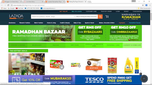 Join Lazada Ramadhan Raya Blogger Contest and Win Lazada Shopping Vouchers!