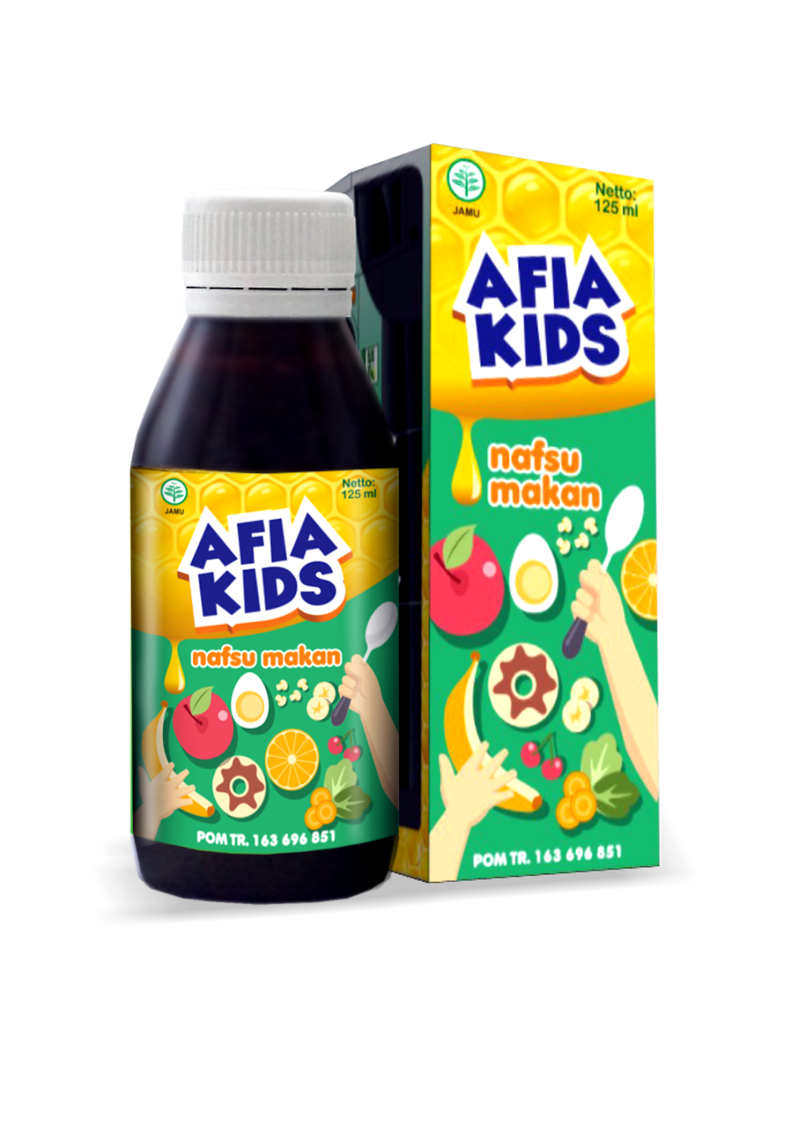 AFIA KIDS[HERBAL NAFSU MAKAN]