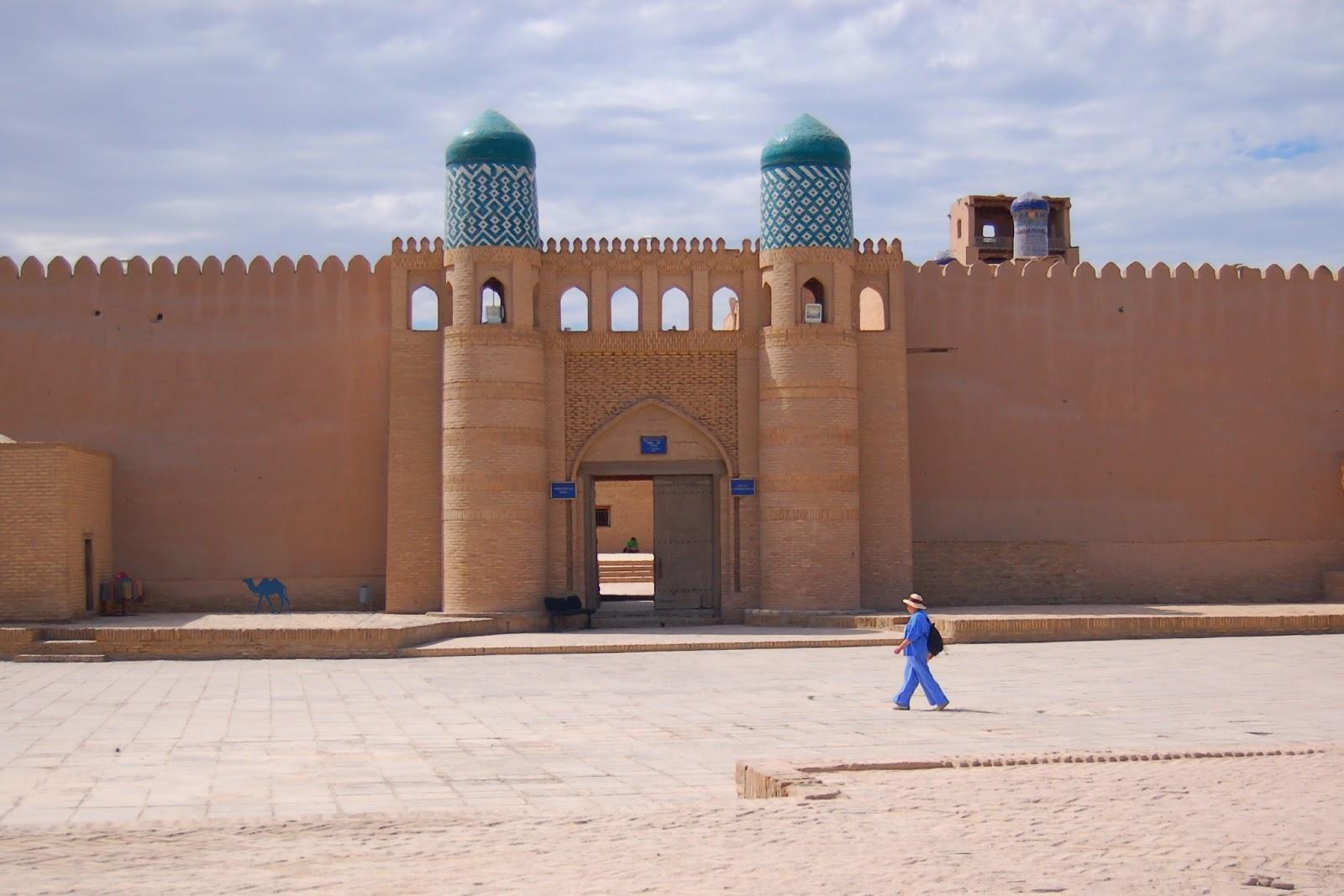 Le Chameau Bleu - Khiva à l'ouest de l'Ouzbékistan - Asie Centrale