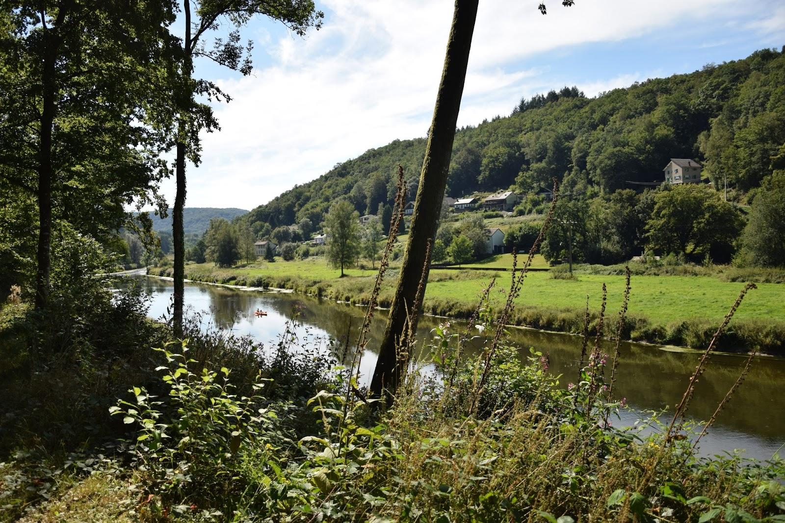 Belgia Ardeny rzeka Semois