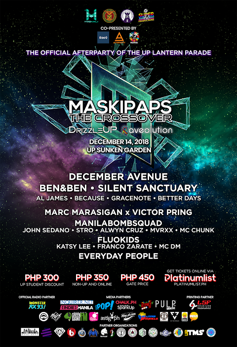 Maskipaps: The Crossover, The Official Afterparty of the UP Lantern Parade