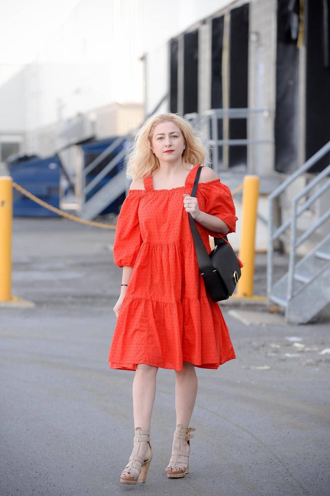 05c14086ddb5 Dress: H&M / Shoes: Chloe (super old) / Bag: 3.1 Phillip Lim