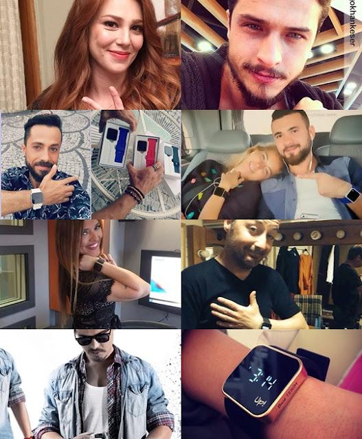 upwatch kullanan sosyal medya fenomenleri