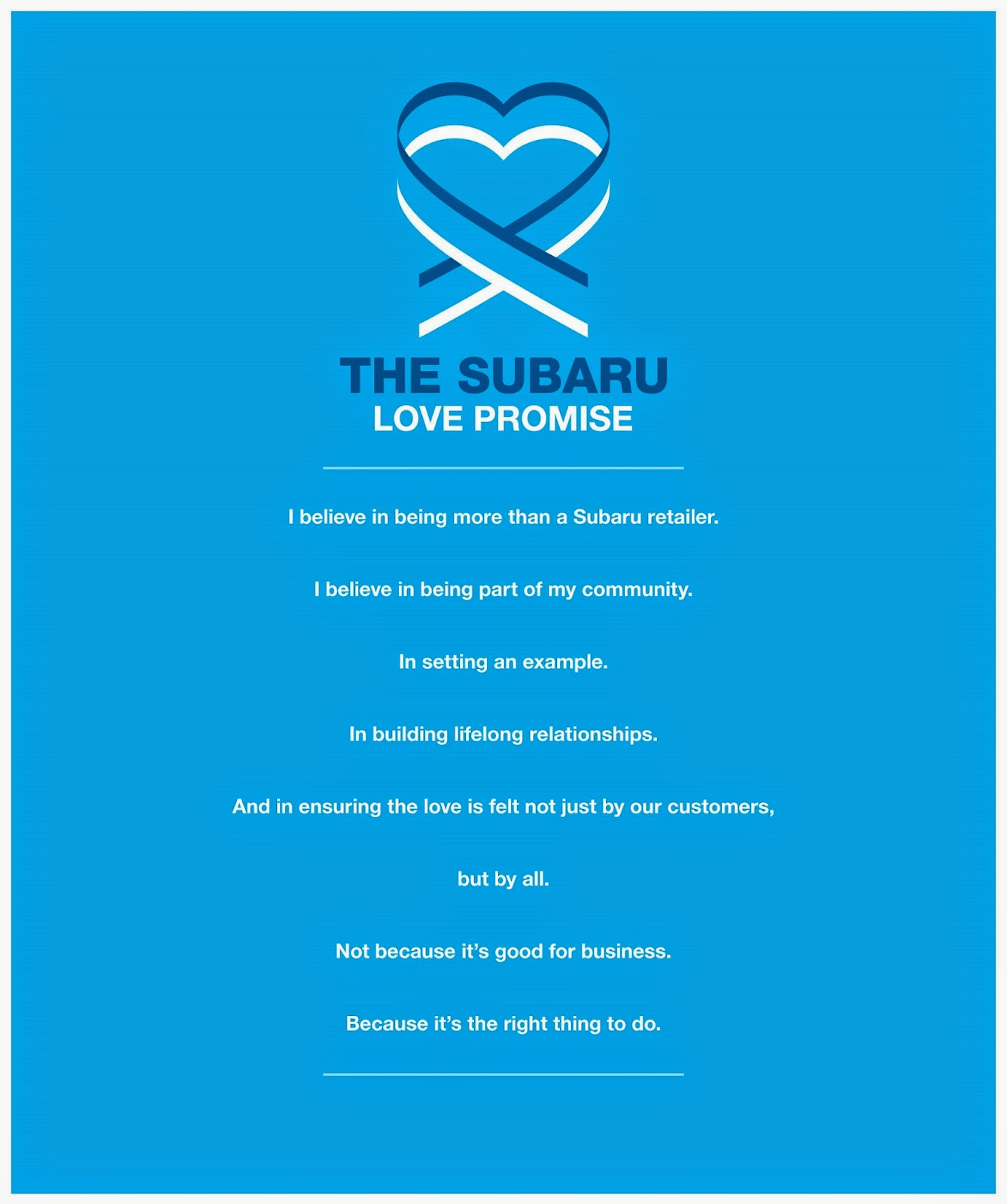 Ferguson Subaru Tulsa >> Ferguson Subaru: Subaru Love Promise | Our Pledge to ...