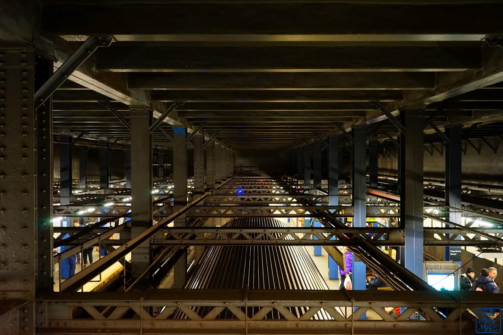 Le Chameau Bleu - Perspectives du métro de New York