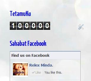 100K tetamu relaks minda-Terima Kasih Sahabat dan Para Tetamuku