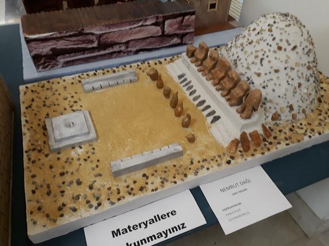 materyal tasarım örnekleri - nemrut dağı