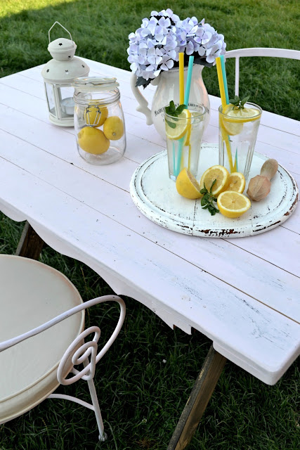 farmhouse table DIY
