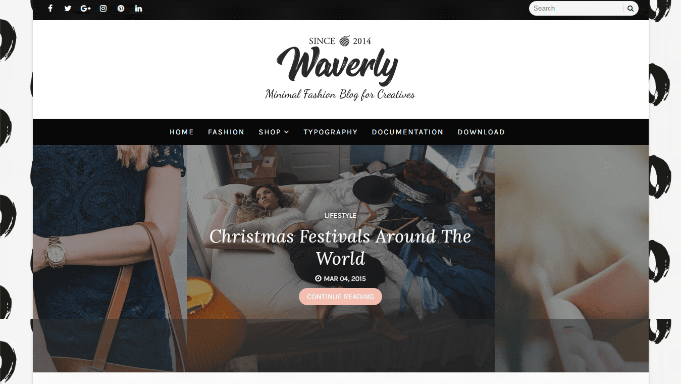 Waverly Blogger Template