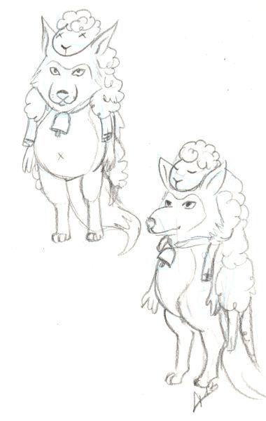 IM Challenge #3 [Aramis] : Les loups garoux de Thiercelieux   Recherche_loup03