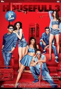 Housefull 3 Hindi 300MB HD MKV MP4 Movie Download