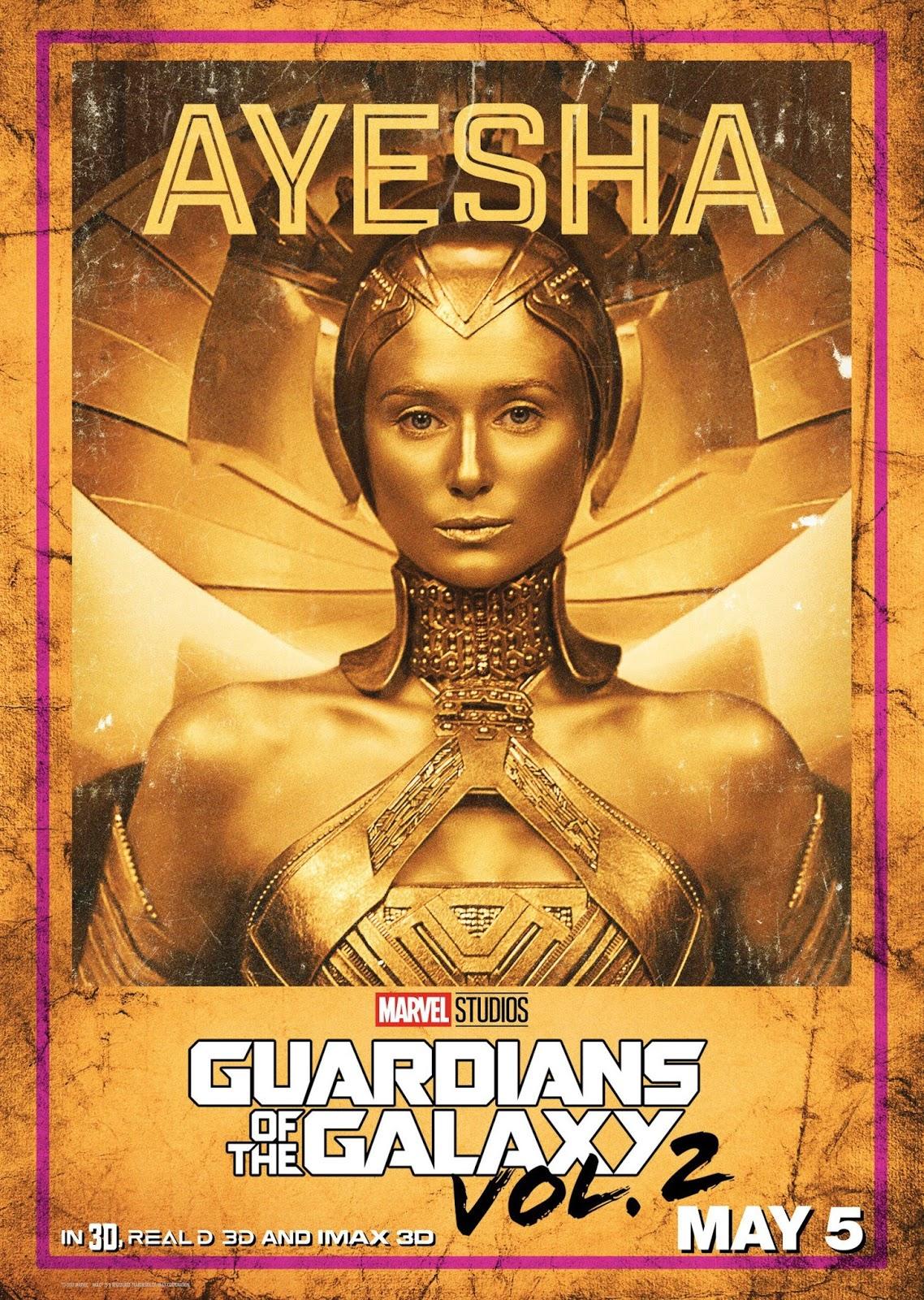 Стражи Галактики Часть 2, Guardians of the Galaxy Vol 2, Айеша, Ayesha