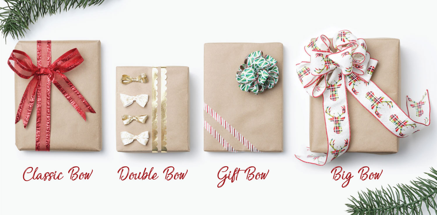 How To Tie A Christmas Bow.Life As The Coats How To Make A Christmas Bow 4 Ways