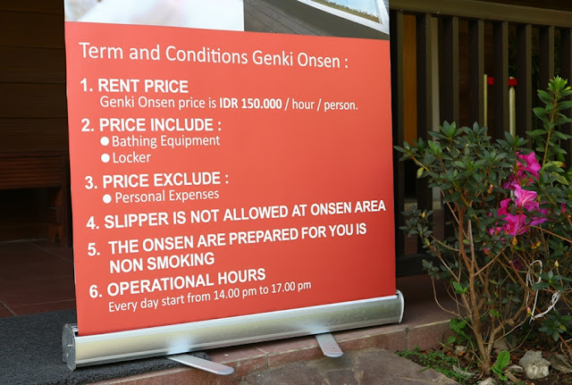 Suasana Jepang di The Onsen Resort, Malang