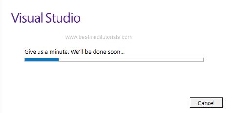 Installing-Microsoft-Visual-Studio-Expression-in-Hindi-8