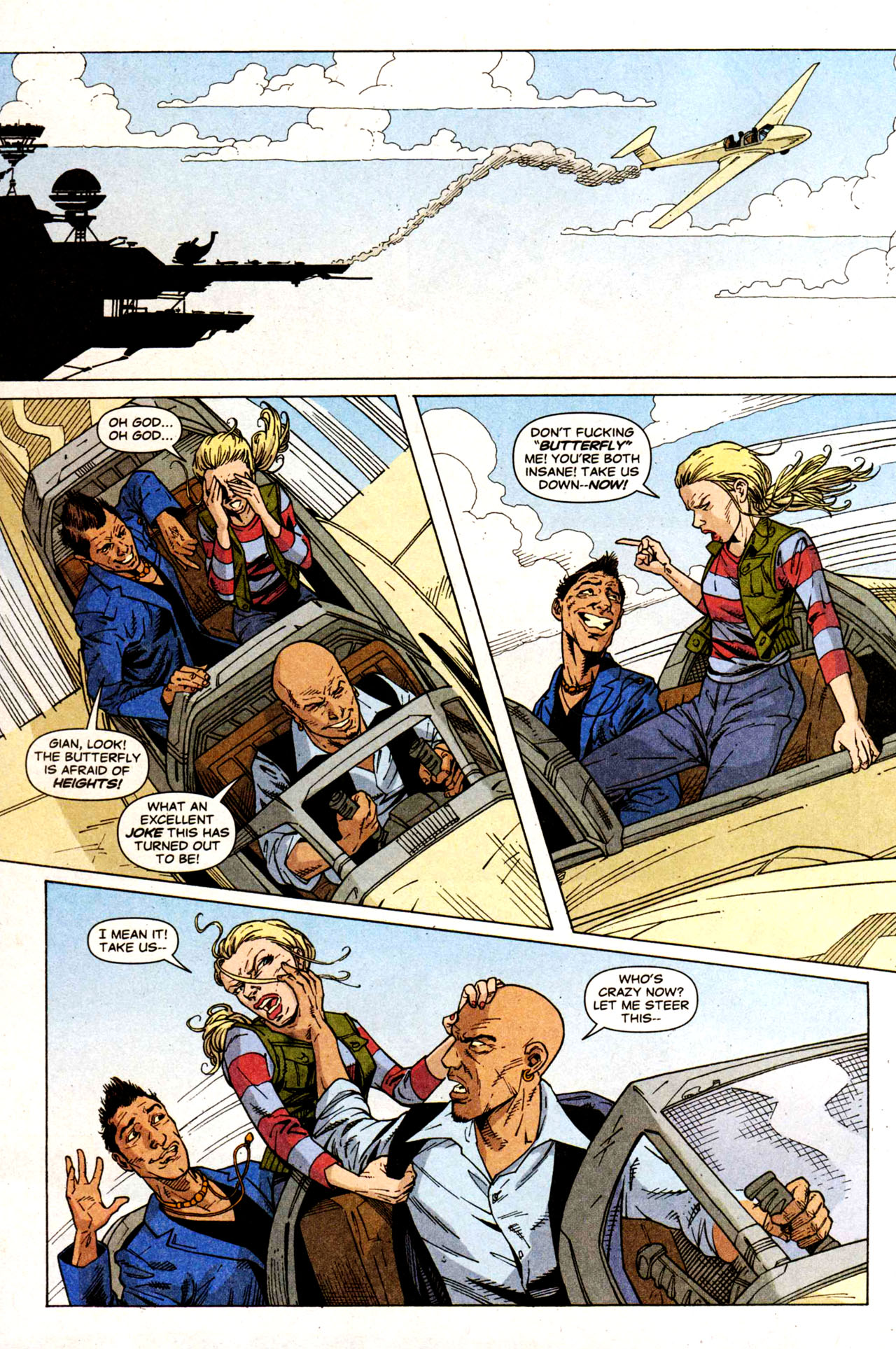 Read online Air comic -  Issue #5 - 18