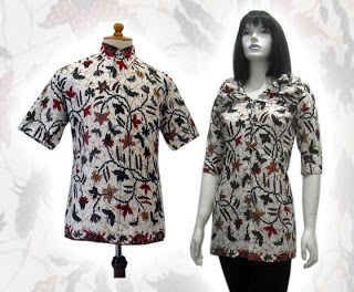 Koleksi Baju Batik Couple Pesta Batik Indonesia