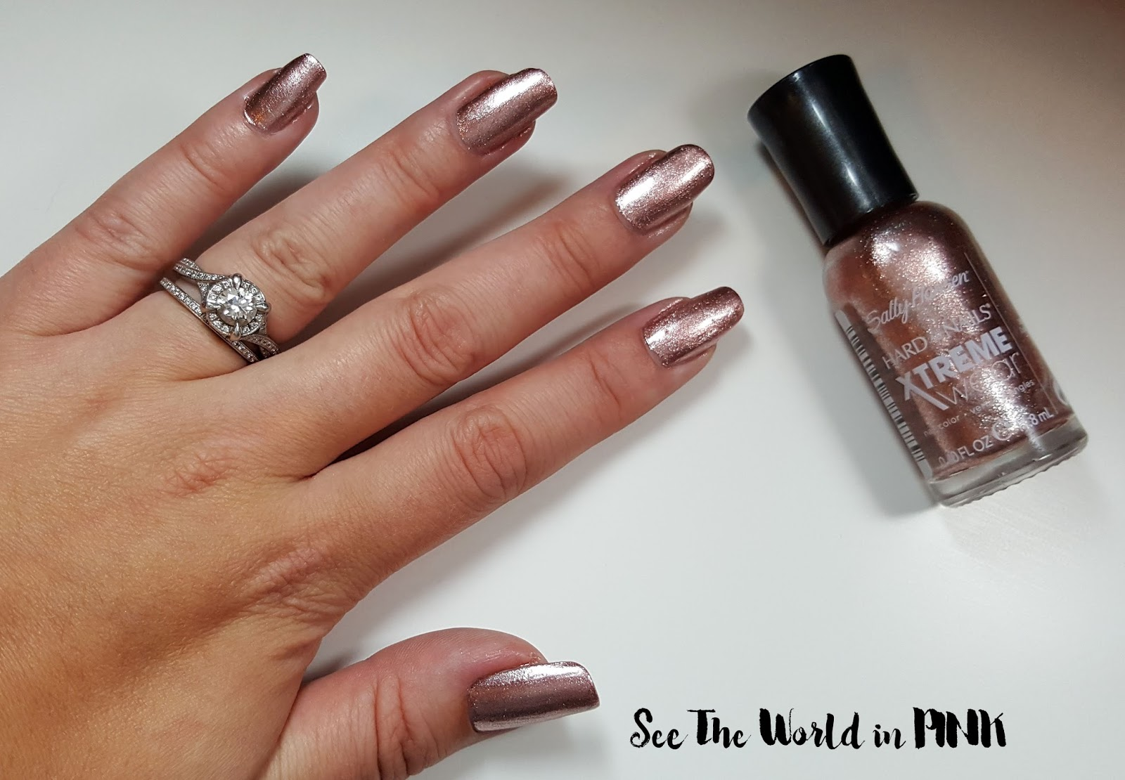 "Sally Hansen Xtreme Wear ""Golden-I"
