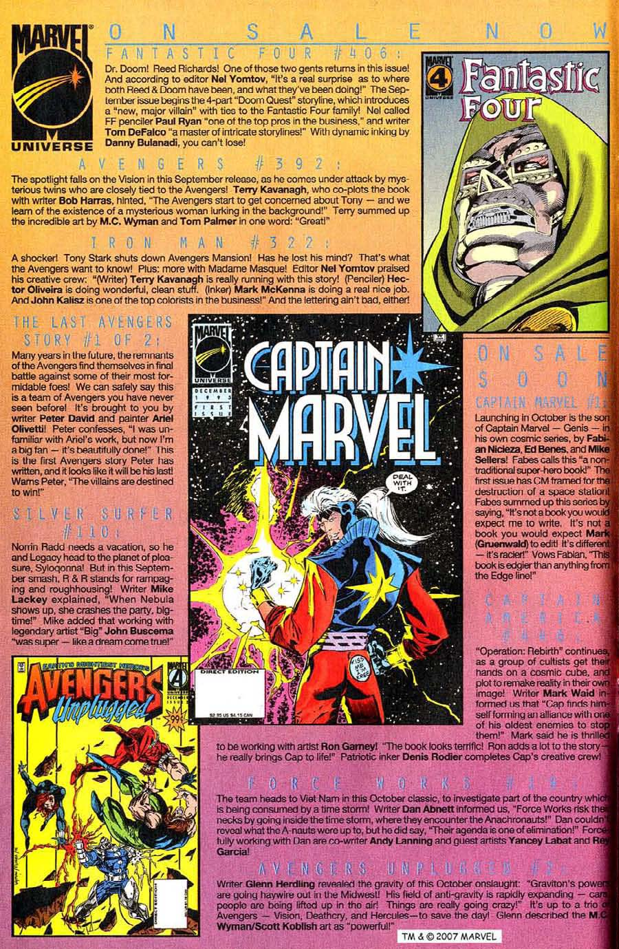 Read online Silver Surfer (1987) comic -  Issue #110 - 10