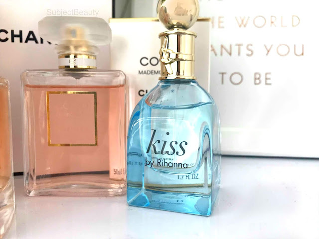 Four Favourite Fragrances Kiss Rihanna