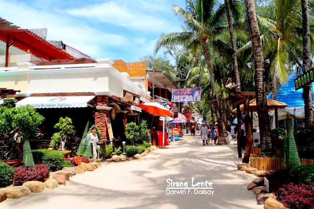 Shops in Boracay