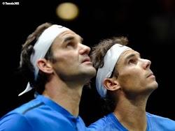 Begini Reaksi Menyentuh Roger Federer Terhadap Rafael Nadal