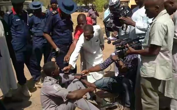 nigerian customs officers shagamu benin
