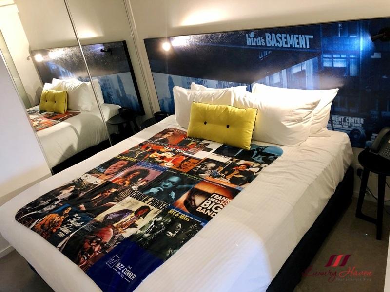 jazz corner hotel one bedroom review