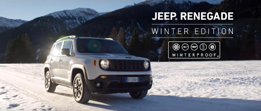 Canzone Jeep Renegade pubblicità  Winter Edition Promozioni Jeep - Musica spot Dicembre 2016