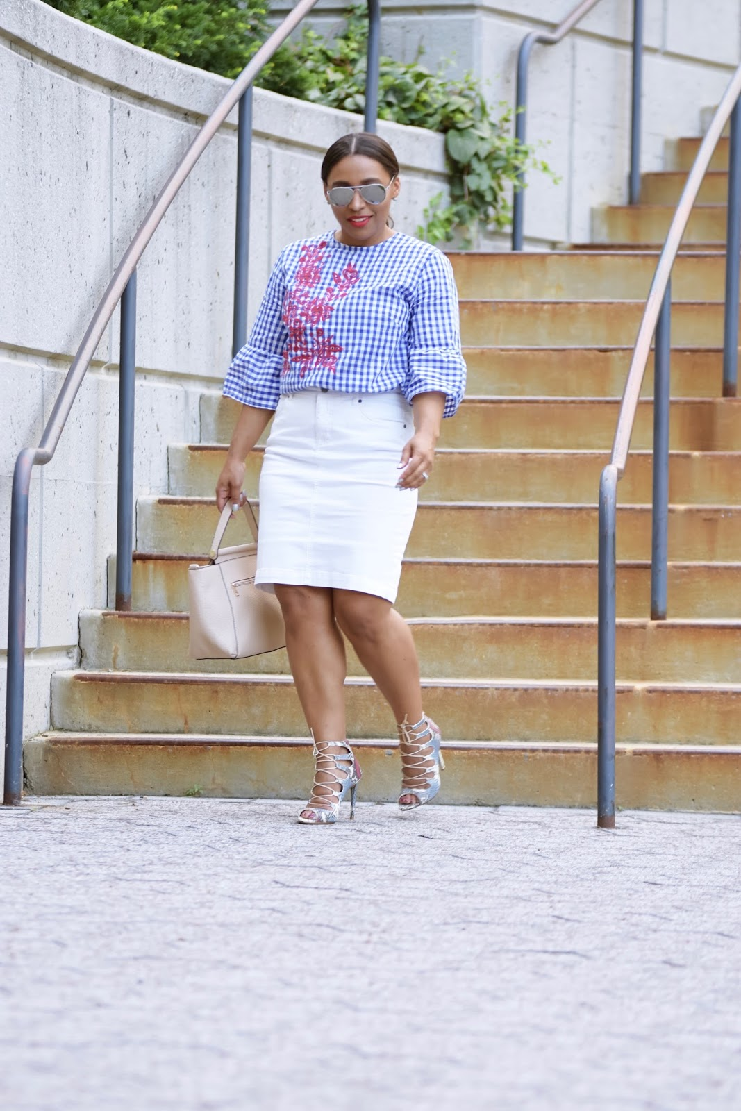 bell sleeve top, embrodiery, white skirt, zara shoes, dominican bloggers, dc bloggers, latina bloggers, armandhugon, fall outfit ideas, fall fashion