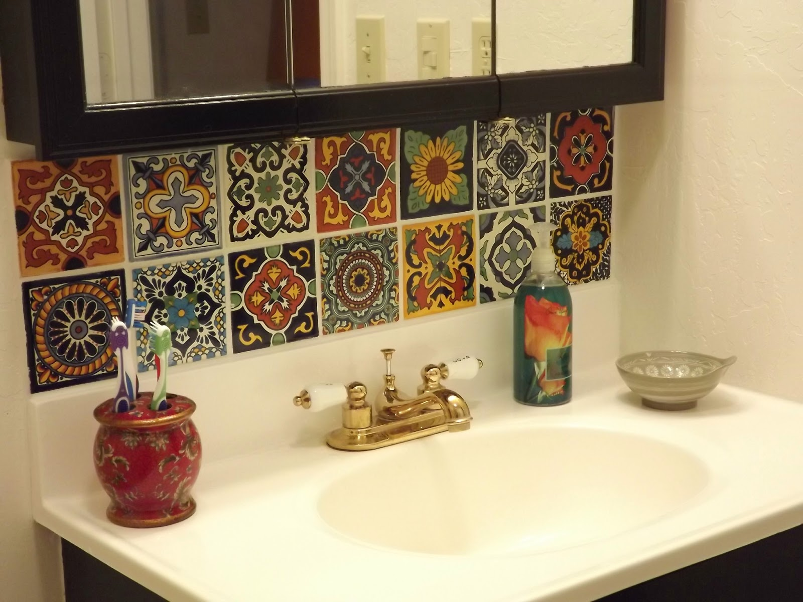 mexican backsplash tiles kitchen wall design dusty coyote tile diy