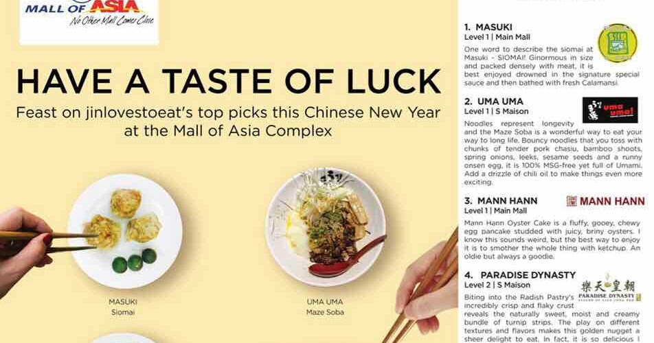 Good Luck Foods For Chinese New Year