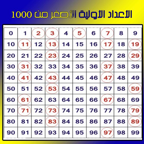 مختلف أنواع الأعداد في الرياضيات مدونة الرياضيات