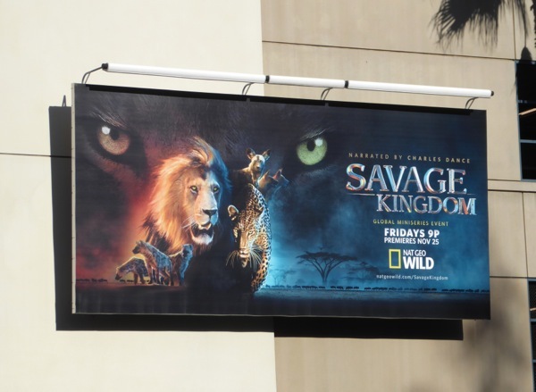 Savage Kingdom TV miniseries billboard