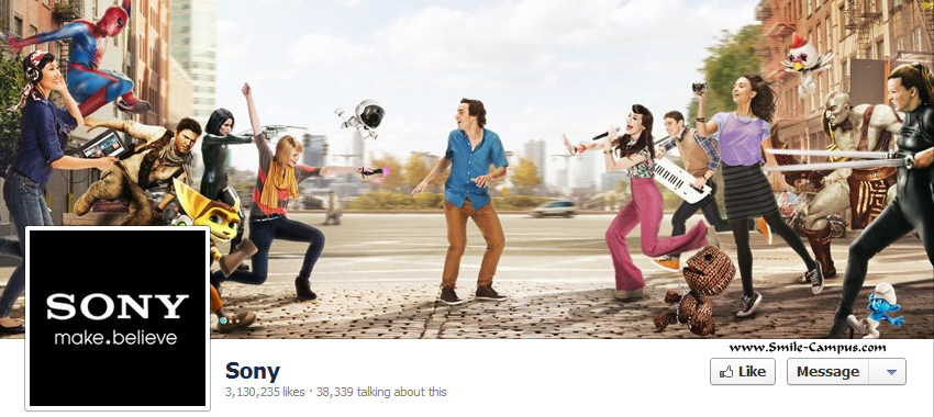 Sony on Facebook