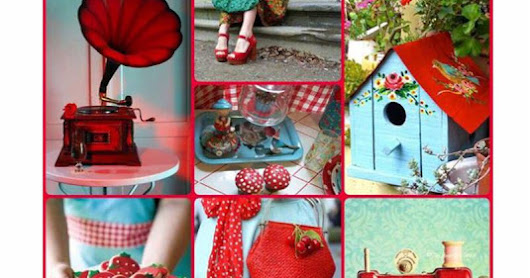 Dusty Attic July Mood Board Challenge