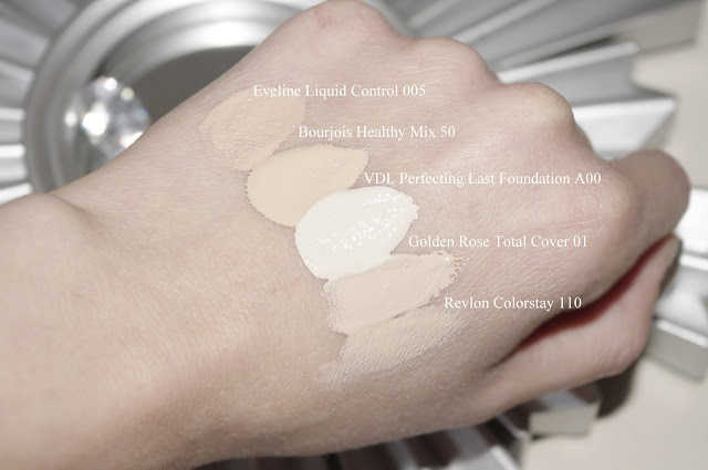 VDL Perfecting Last Foundation A00 swatch