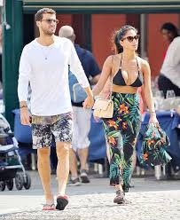 Grigor Dimitrov And Nicole Scherzinger On Romantic Stroll