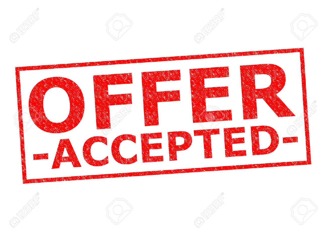 sacramento real estate so my offer just got accepted should i generally speaking there can be three different scenarios after your offer gets accepted we call it acceptance smooth sailing scenario and getting the