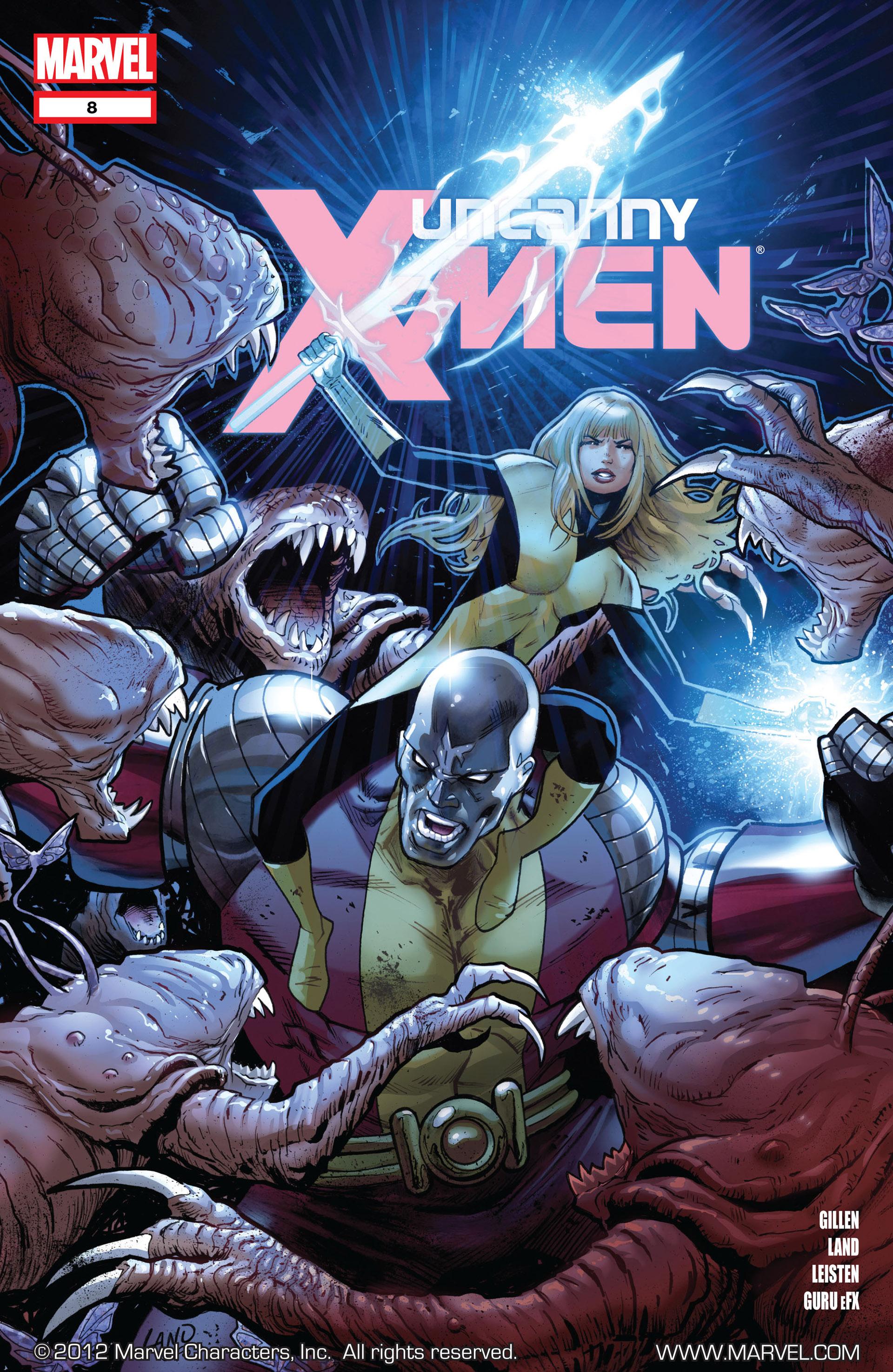 Read online Uncanny X-Men (2012) comic -  Issue #8 - 1