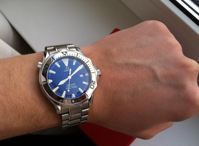 AAA Réplicas de relojes Omega Seamaster hombre de acero inoxidable cuarzo 2265.80.00 De http://www.replicas-relojes.es/!