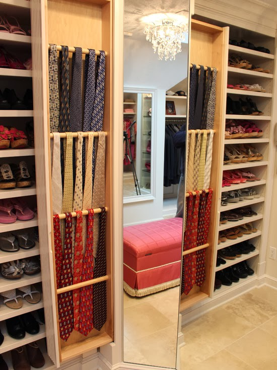 Hogares frescos 40 ideas para dise ar tu closet y for Walking closet modernos pequenos