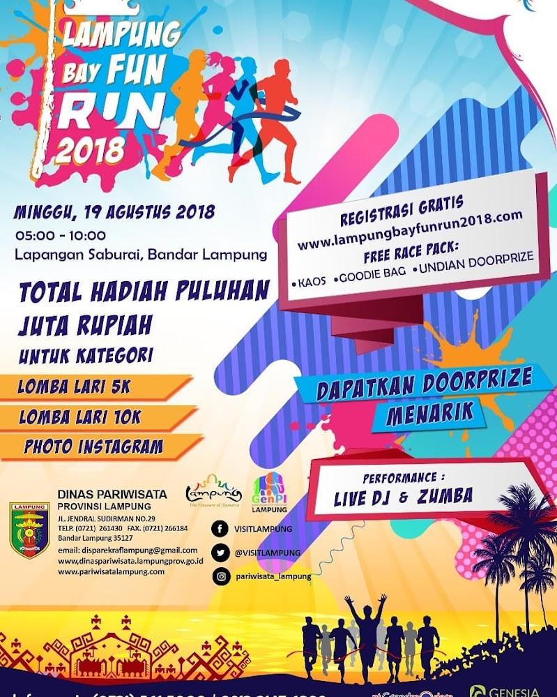 Lampung Bay Fun Run • 2018