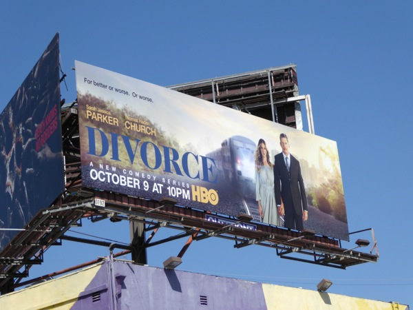 Divorce season 1 billboard