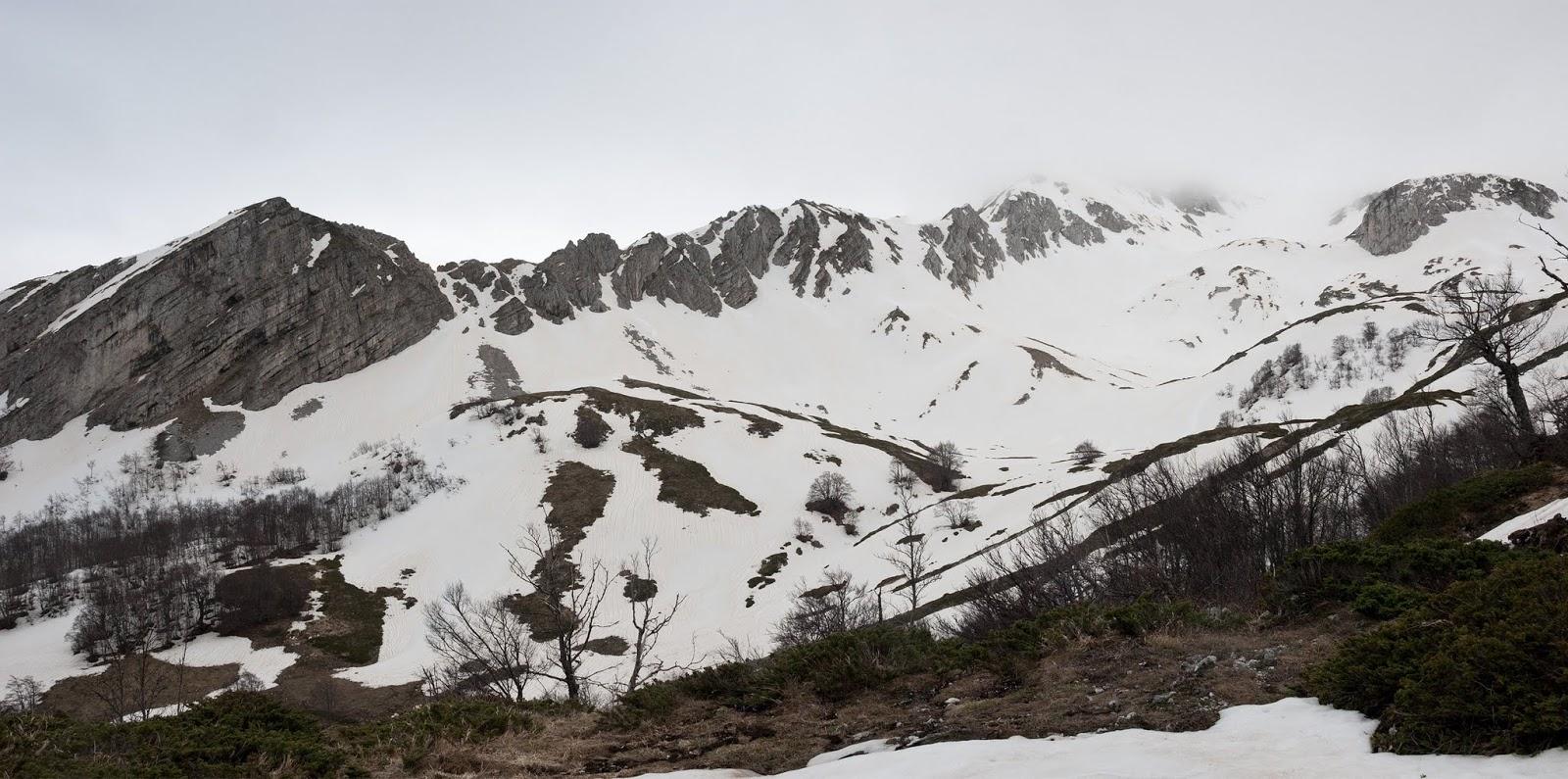 Iaccetto di Pezza, Valle Cerchiata
