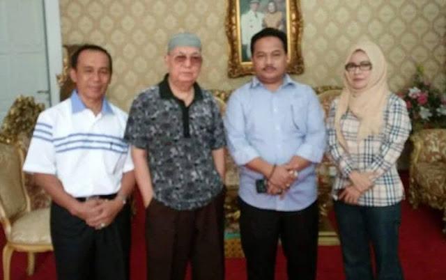 Hamdi Bintang-Harmain Dapat Dukungan dari Madjid Mu'az